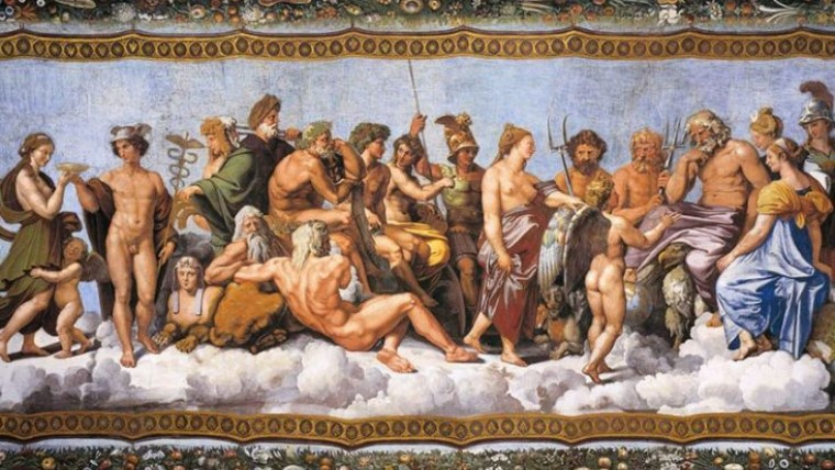 The 12 Olympian Gods Digital Maps Of The Ancient World