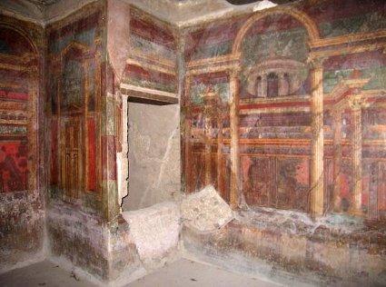 Villa of the Mysteries, Pompeii.