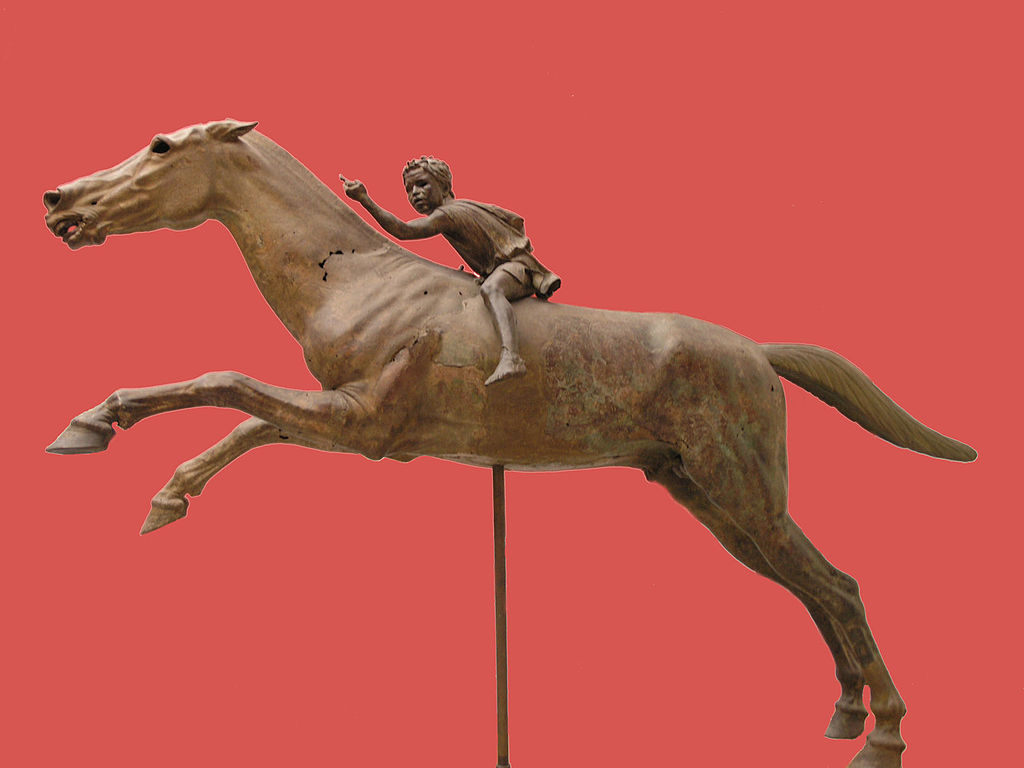 Jockey of Artemision. Athens National Archaeological Museum.