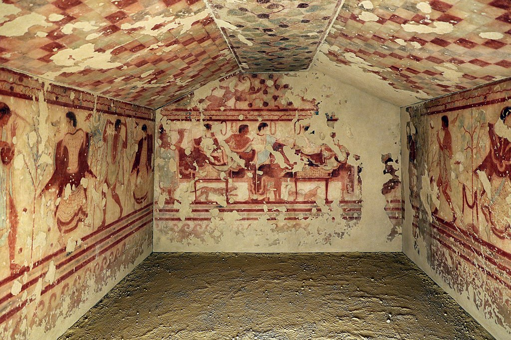 Tomb of the Triclinium, c. 470 BC.