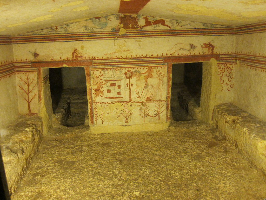 Tomb of the Bulls, c. 540-520 BC.