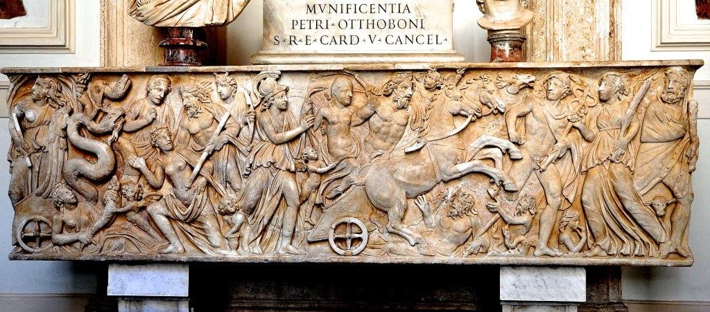 Abduction ofPersephone, c. 230–240 AD.Capitoline Museum.