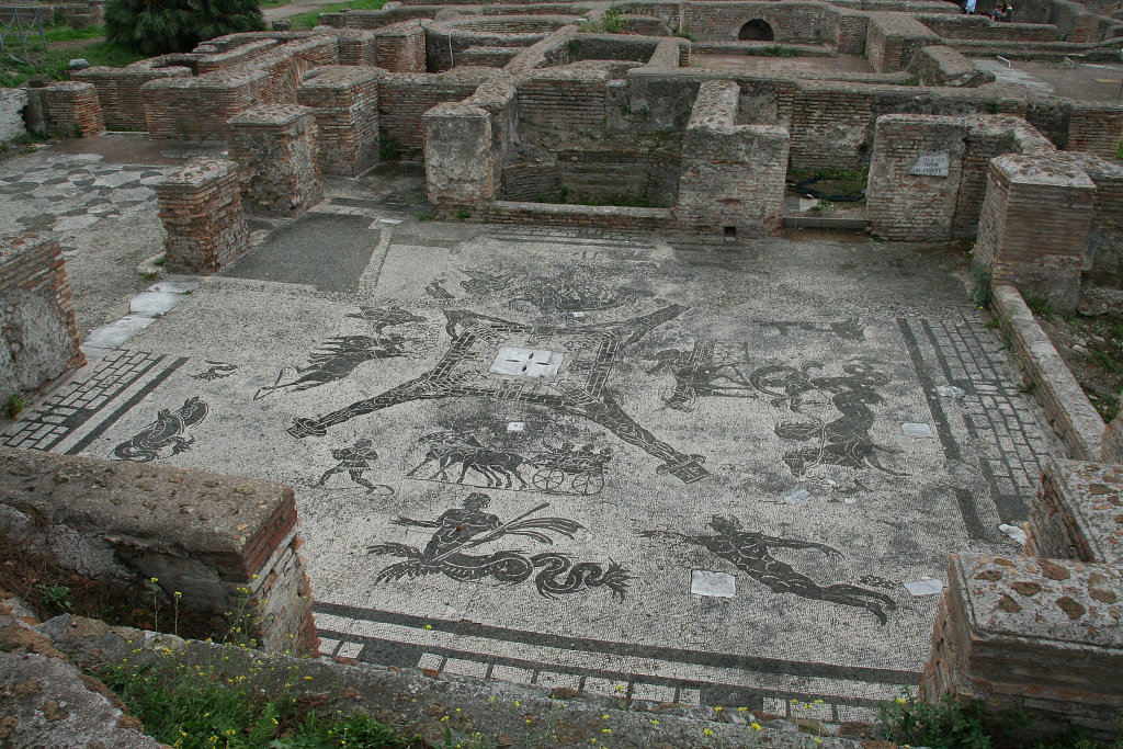 Baths of the Coachmen, Ostia.