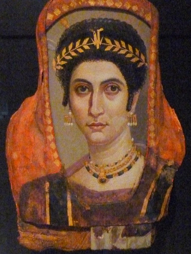 A woman named Isidora, c. 100-110 AD. Getty Villa.