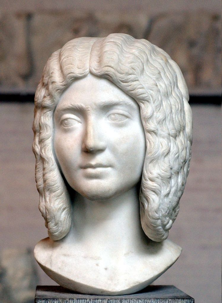 Julia Domna, wife of Severus.