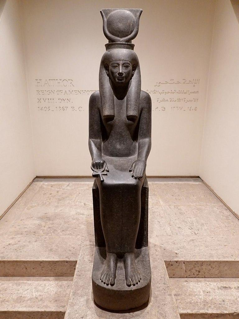 Hathor, c. 1300 BC, Luxor Museum.