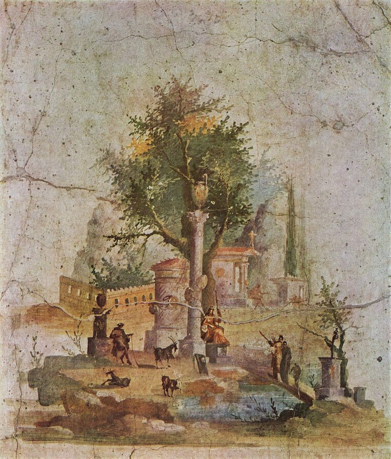 Rustic scene. Villa of Agrippa Postumus, Boscotrecase.