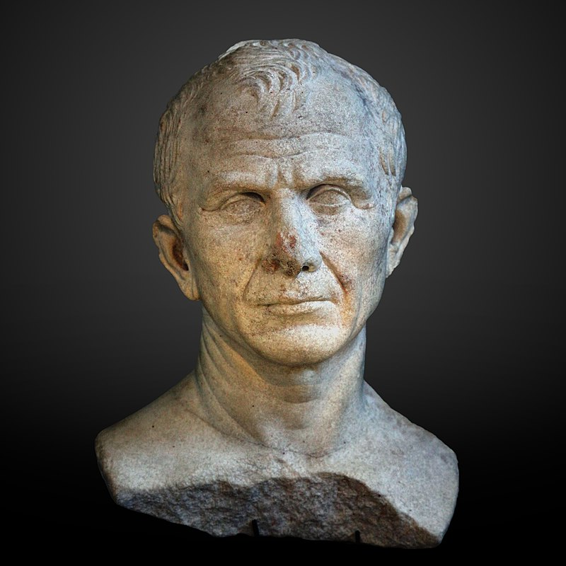 The Arles bust, possibly of Julius Caesar, c. 46 BC.