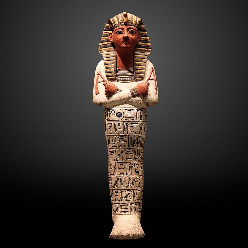 Ushabti ofRamesses IV, c. 1150 BC.