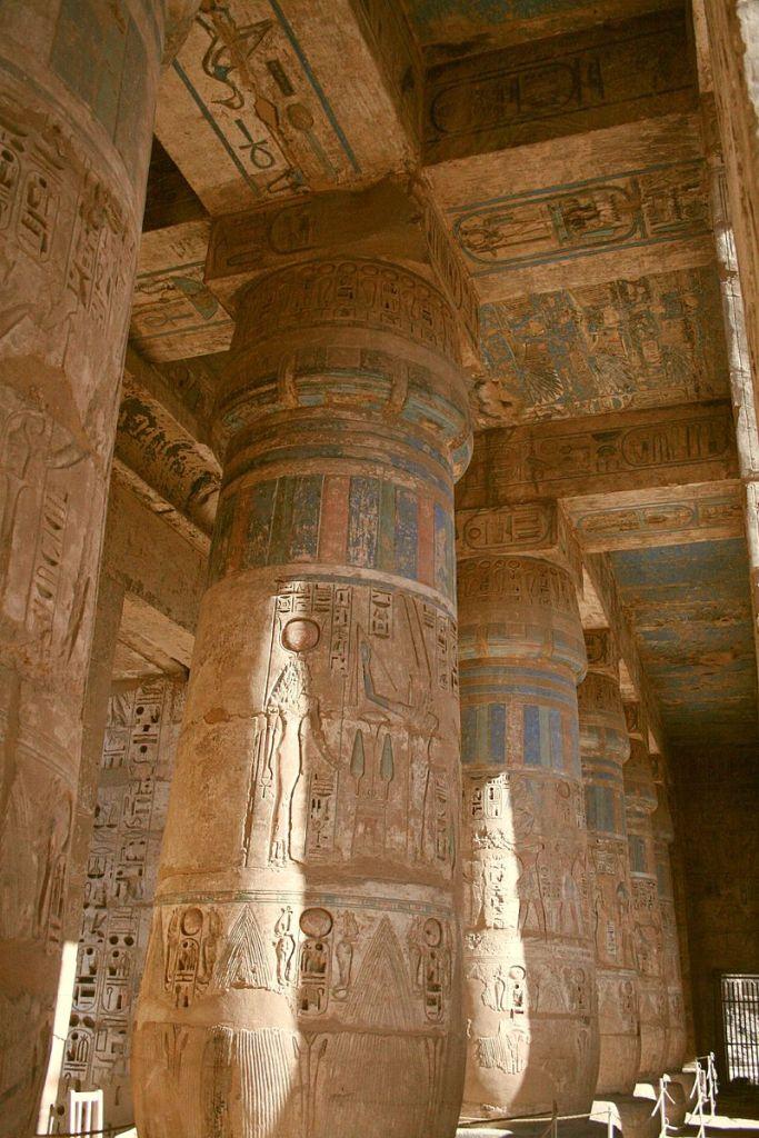 Temple of Ramses III, Medinet Habu.