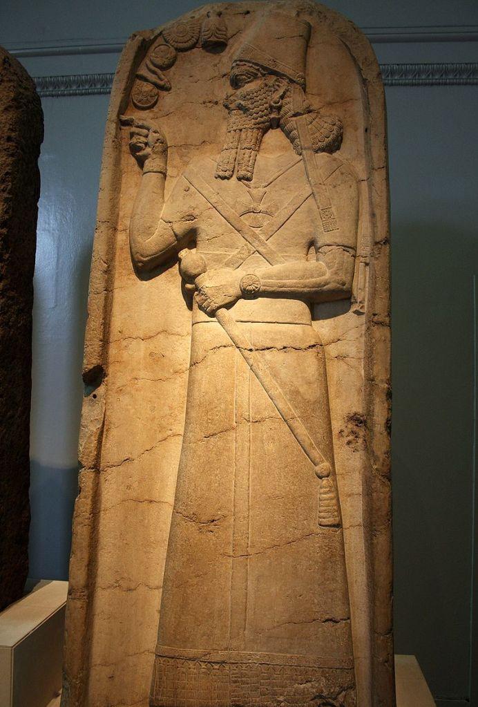 Stela of Shamshi-Adad V.