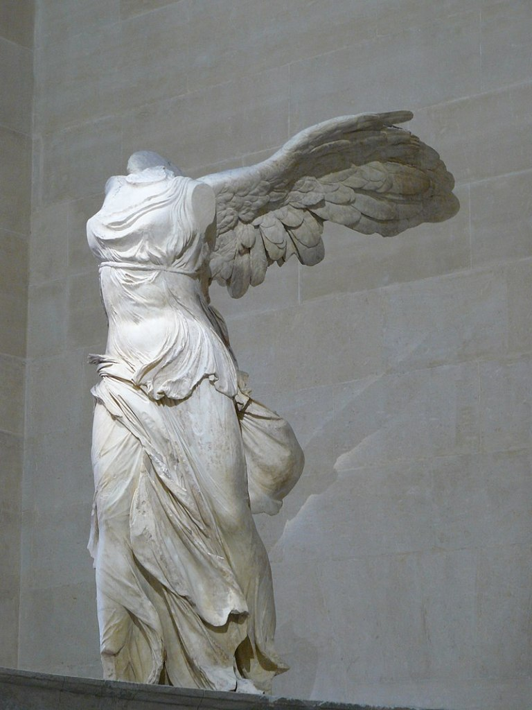 The Winged Victory of Samothrace. Louvre.