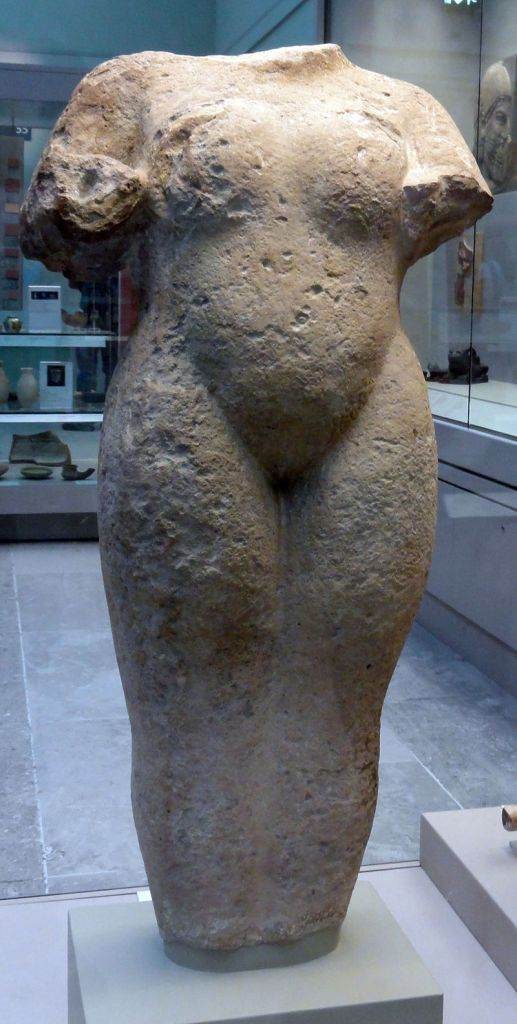 Unique Assyrian female nude statuefrom the temple ofIshtarat Nineveh.