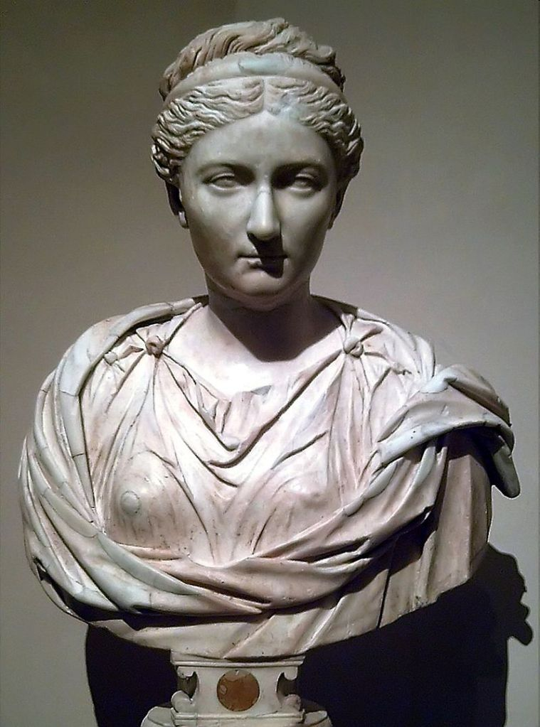 Vibia Sabina, wife of Hadrian.