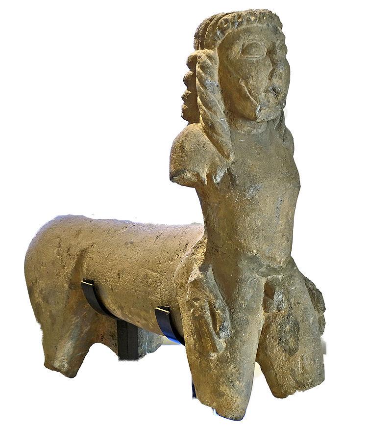 Centaur of Vulci, c. 590–580 BC.