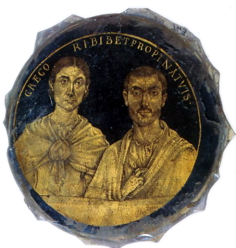 Portrait of a couple, 3rd c. AD.