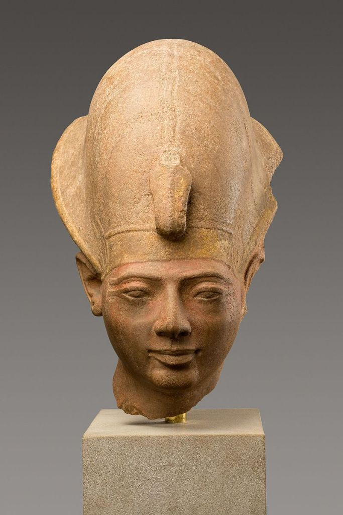 Head from a statue of Amenmesse,Metropolitan Museum of Art.
