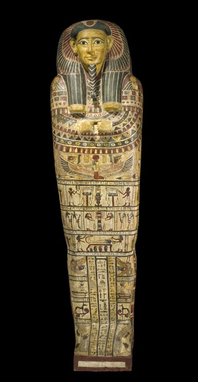 Inner coffin of Irthorru. Museum of Scotland.