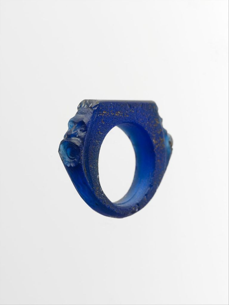 Glass ring, 3rd c. AD.