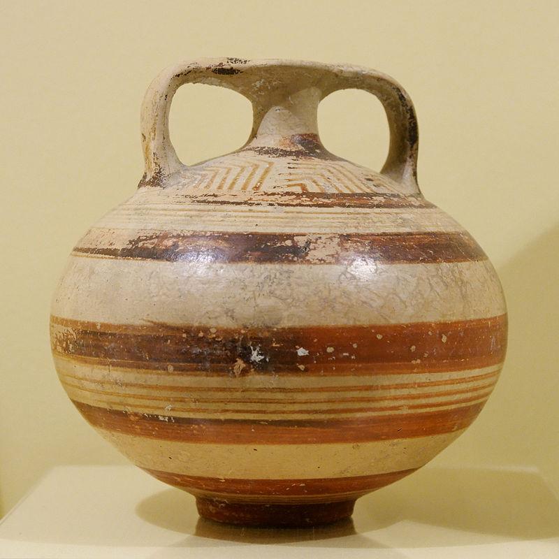 Stirrup vase, c. 1400-1200 BC.