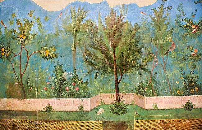 Garden scene. Villa of Livia, Prima Porta.