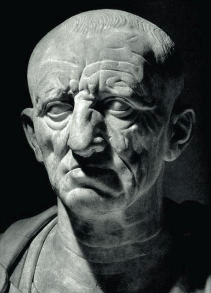 The Patrician Torlonia bust thought to be of Cato the Elder.