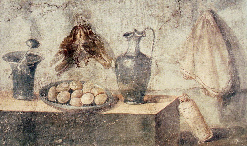 Roman kitchen. House of Julia Felix, Pompeii.
