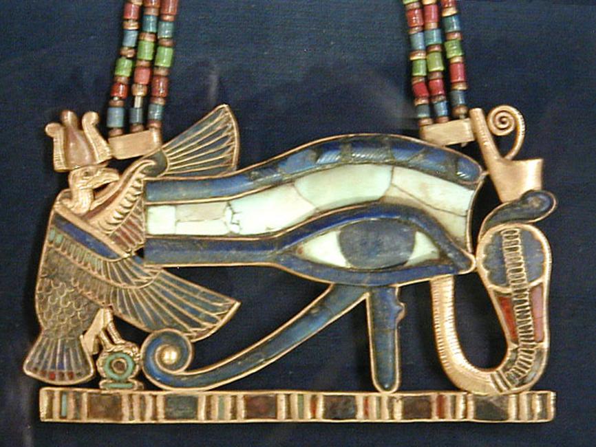 Eye of Horus pectoral.