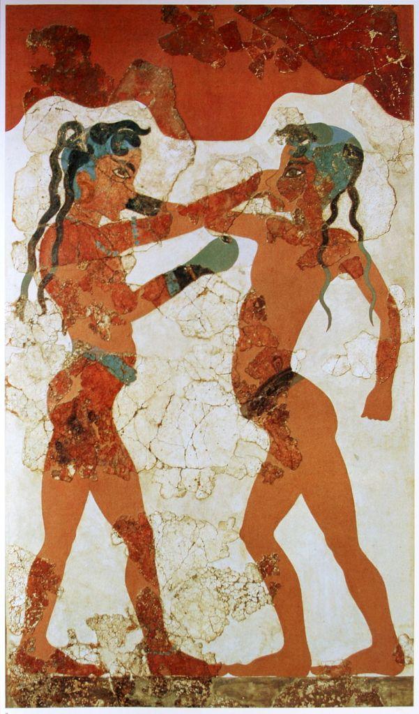 Boxer Fresco from Akrotiri.